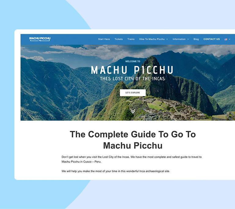 Machu Picchu org